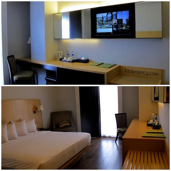 Selama perjalanan Terios 7 Wonders - Hidden Paradise, kami menginap di grupnya Hotel Santika.