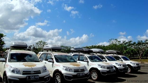 Cantik banget langit pagi itu di Bandara International Lombok.