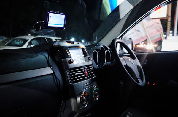 GPS mobil. (doc. Wira Nurmansyah)