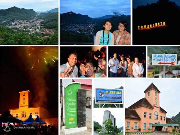 Jauh-jauh tahun baruan di Sawahlunto, eh ketemunya artis ibukota juga, Bang Tigor!