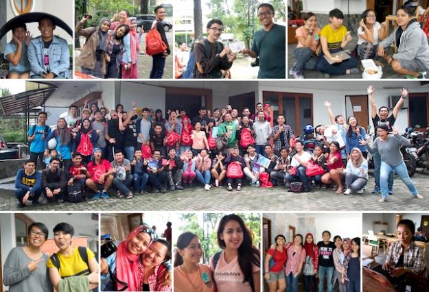 Terimakasih untuk semua pihak yang sudah membantu acara ini. Sampai bertemu lagi di TravelnBlog yang ke-3!
